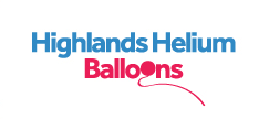 Logo for Highlands Helium Balloons